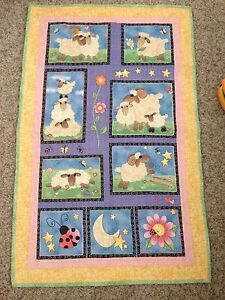 Beautiful sheep quilt