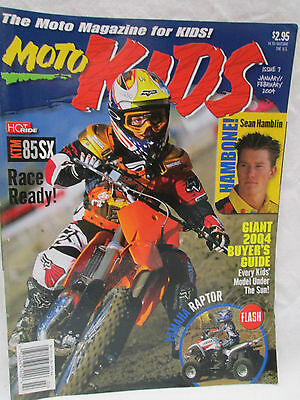 Moto Kids Magazine Jan./Feb. 2004 Dirt Bike Motocross Sean Hamblin Hambone