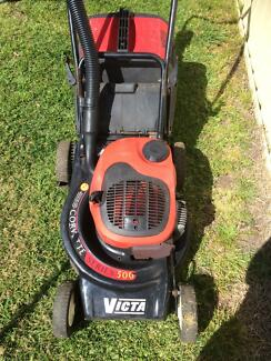 VICTA LAWNMOWER CORVETTE READY TO GO MASPORT ROVER BRIGGS Colac Colac-Otway Area Preview