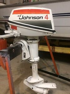 Johnson 4hp Outboard Motor