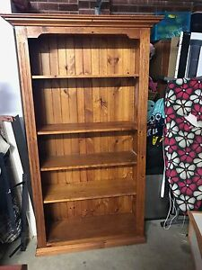Pine Bookcase Putney Ryde Area Preview