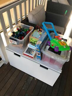 Bulk Children toys including Wooden Thomas& tracks...
