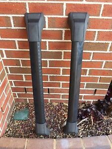 FORD TERRITORY GENUINE OEM ROOF RACK RACKS WITH KEYS Melrose Park Parramatta Area Preview
