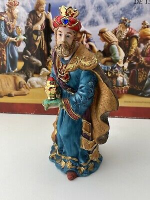 "Kirkland Signature Porcelain Nativity Hand painted Wiseman 7-1/2"" From Set 18366"