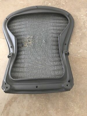 Herman Miller Aeron Chair Replacement Back Size B Zinc Gray Color Used.