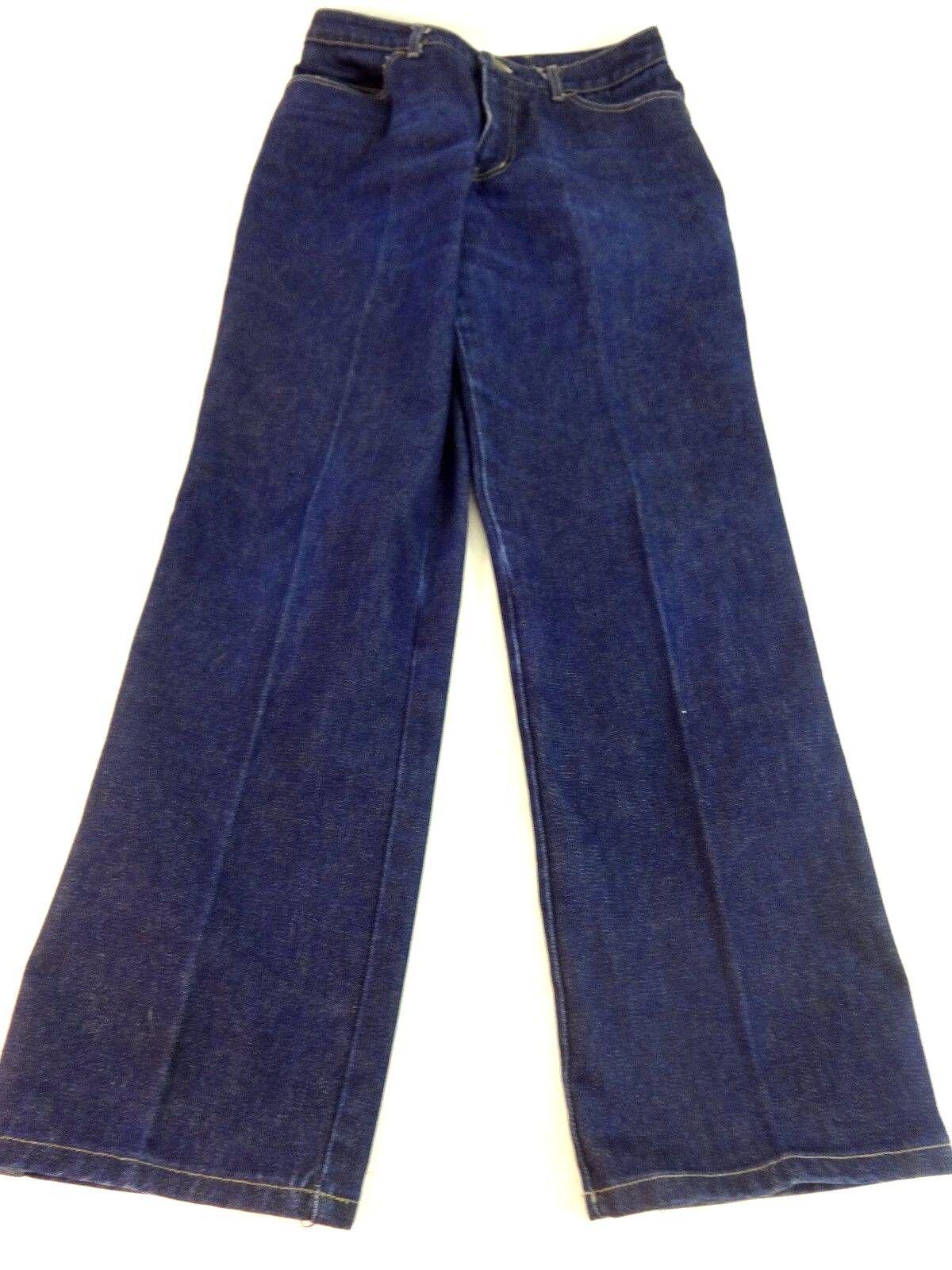 1bbd1408ab325 Details about NWOT LIZ CLAIBORNE WOMENS DARK WASH BLUE DENIM WIDE STRAIGHT  LEG JEANS SIZE 12