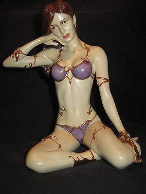 Barbarian Slave Girl Woman Figurine Statue Resin Princess Leia Star wars ?