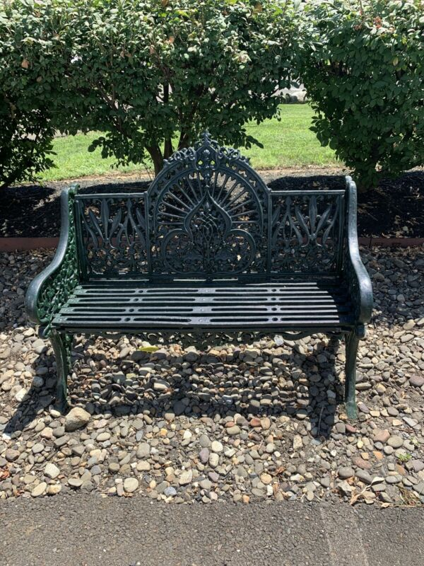 Pierce Wexford Cast Iron Bench