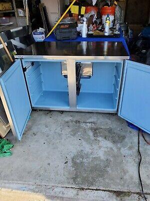 2 Door 48 Under Counter Refrigerator Nsf Work Top Cooler Delfield Uc4048 4007