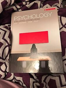 Psychology Evaluating Connections Textbook