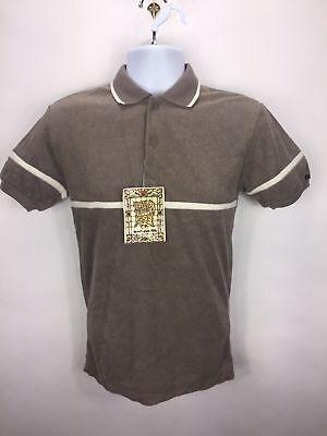 NOS Vintage 70s Kennington NWT Mens Small Terry Cloth Shirt Disco Mod - Mens Disco Clothes