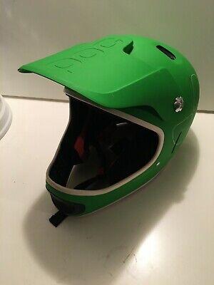 MTB Helm POC CORON AIR SPIN Grün M-L Gebraucht