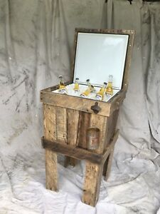 One of a kind Cooler made from oak Pallets