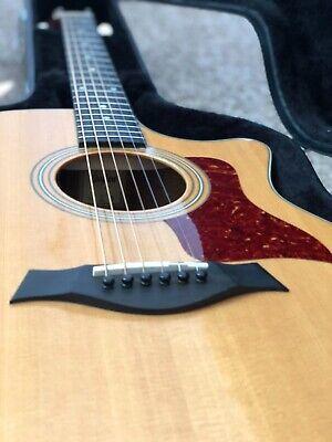 Excellent 2005 Taylor 414ce Acoustic/Electric Grand Auditorium Guitar + Bundle