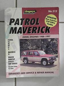 512 Gregory's Patrol Maverick Workshop Manual Narangba Caboolture Area Preview