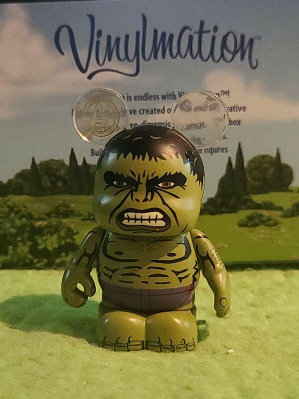 """DISNEY Vinylmation 3"""" Park Set 1 Avengers Age of Ultron Hulk Chaser"""