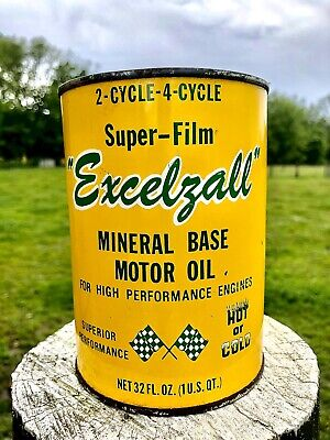 Excelzall Quart Oil Can