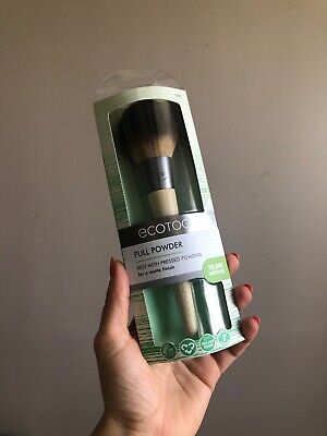 Eco Tools Full Powder Brush for a Matte Finish Best with Pressed