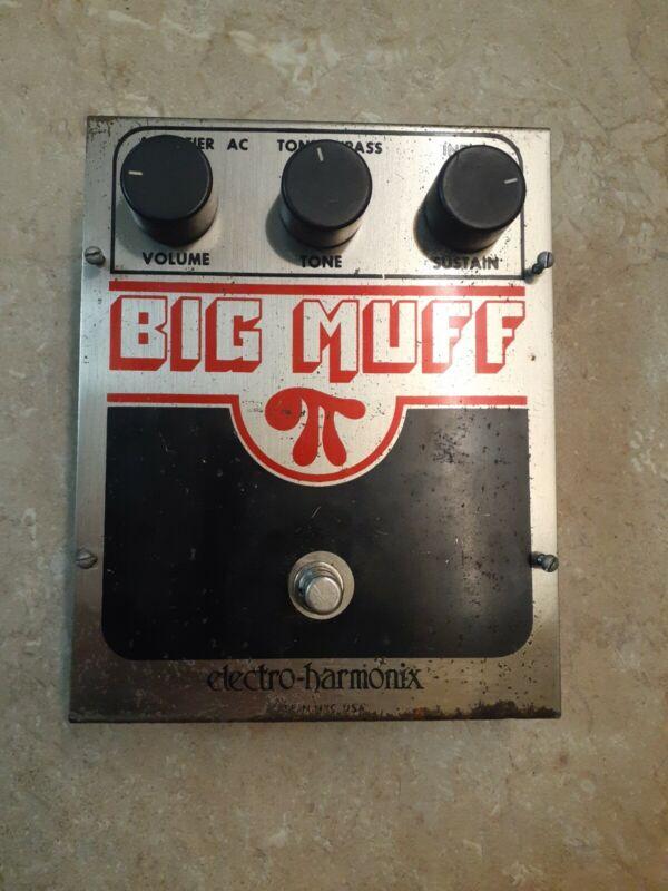 Vintage 1980 Electro Harmonix Big Muff Guitar Pedal