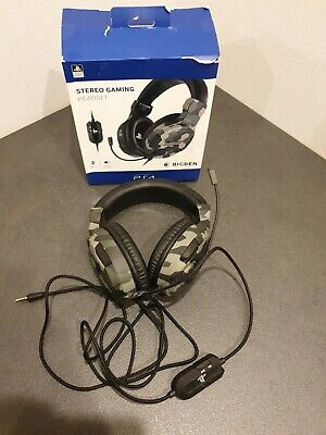 Bigben Interactive PS4 Stereo-Gaming-Headset -Grün/Camouflage (BB381443) OverEar