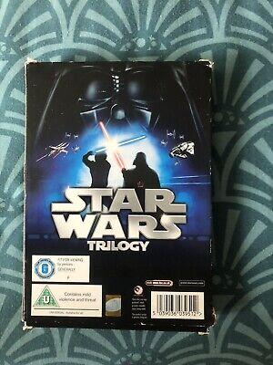 Star Wars - The Original Trilogy (DVD, 2008, 6-Disc Set, Box Set)