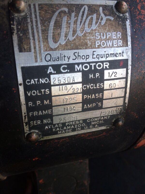 Atlas Electric Motor