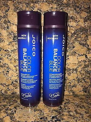 Joico Color Balance Blue Shampoo and Conditioner 10.1 oz / 300 mL