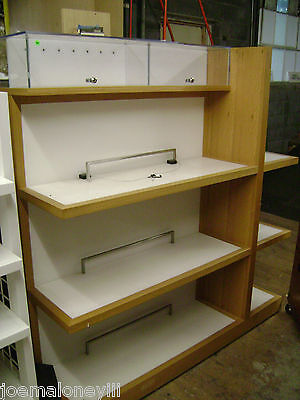 Retail Display Shelf Unit Security Shelving Michael Kors Display Rack