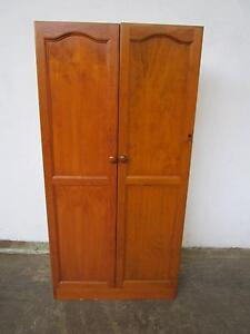 C44038 Pine 2 Door Wardrobe with Shelf Mount Barker Mount Barker Area Preview