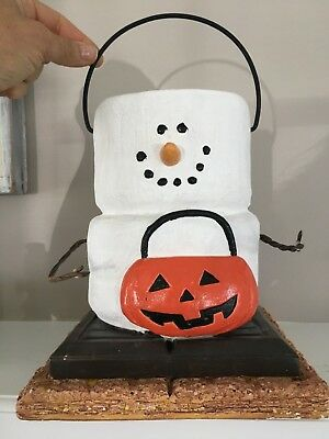 Midwest Smores S'mores Halloween Treat Bucket Decoration JOL Trick or Treat CUTE (Halloween Smores)