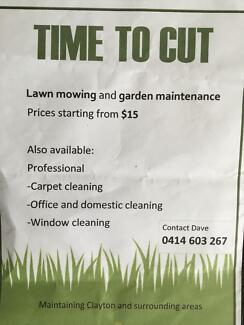 TIME TO CUT,,,,, LAWN MOWING   PH.