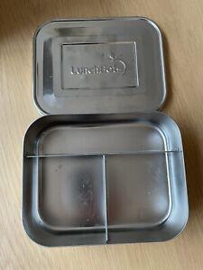 Lunchbots stainless steel bento box medium