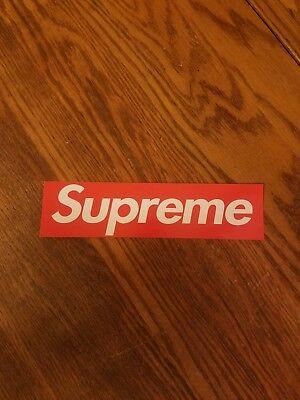 Supreme Box Logo vinyl sticker decal 8