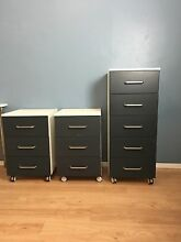 L Desk Bookshelf Bookcase Tallboy nightstand drawers Bedroom set Runaway Bay Gold Coast North Preview