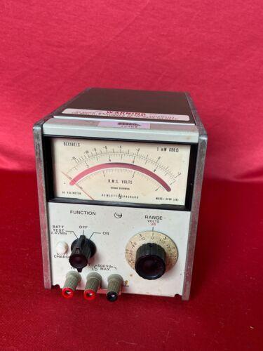 Hewlett Packard HP Voltmeter Model 403B