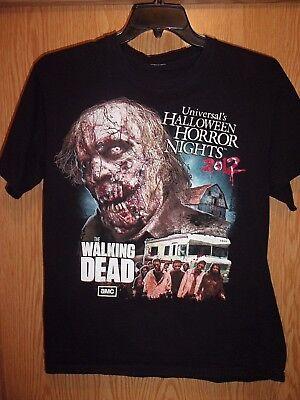 Halloween Horror Nights Walking Dead Shirt (Halloween Horror Nights 2012 Walking Dead M t shirt)
