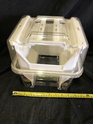 Plastic Wafer Carrier 25 Holder Km-8w2 Kmc Cpb-802 Used