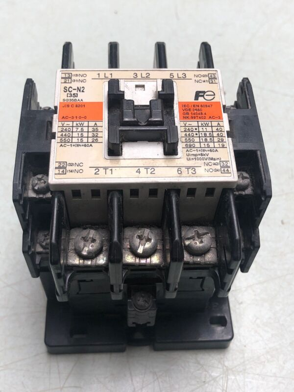 FUJI ELECTRIC SC-N2 SCN2 200-240VAC PLC MAGNETIC CONTACTOR WARRANTY FREE SHIP