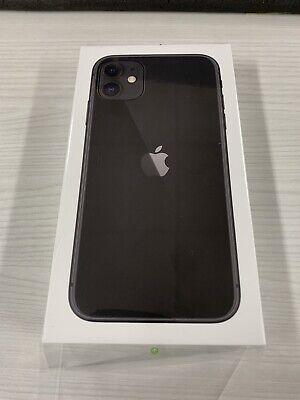 Apple iPhone 11 - 64GB - Black (AT&T) A2111 (CDMA + GSM) - Brand New (Sealed)