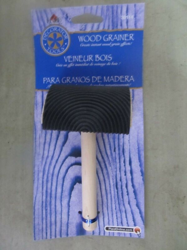 Plaid Wood Grainer Tool #30114  instant wood grain