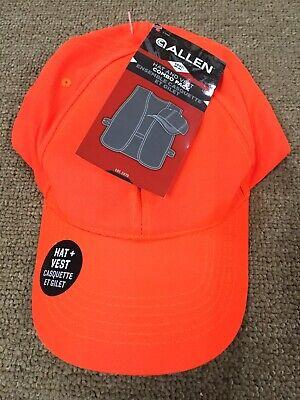 fb5e7749403 Blaze Orange HUNTER S HAT   VEST COMBO SET HI-VIS