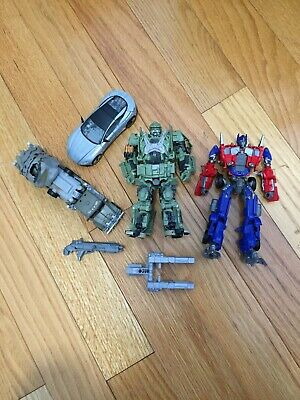 Transformers TLK Hound, Cogman, DOTM Megatron, Evasion Optimus Prime Lot (loose)