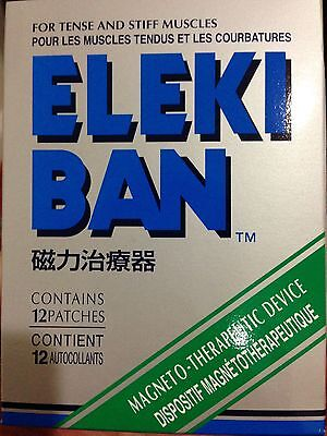 Elekiban Magnetic patch for Tense/ Stiff (Over The Counter Medicine For Muscle Cramps)