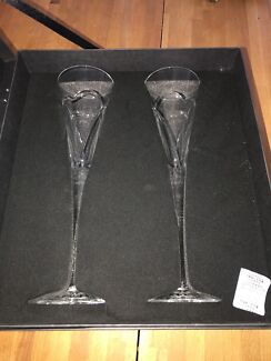 Waterford Crystal - Wishes Flutes Love & Romance Pair