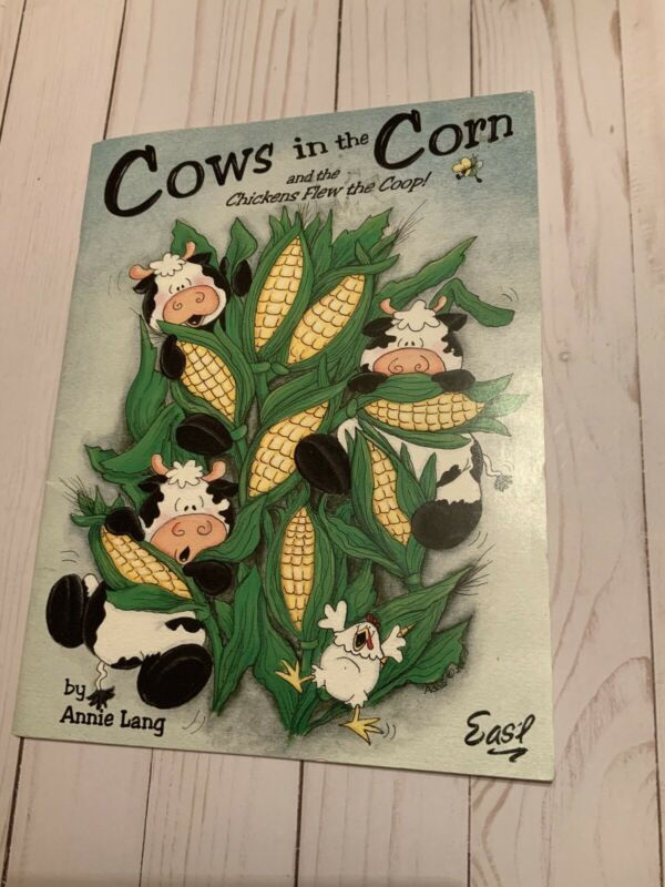 Cows in the Corn by Annie Lang Decorative Painting Book