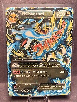 2014 Mega M Charizard EX Pokemon Card 69/106 Ultra Rare Holo Foil Flashfire Card