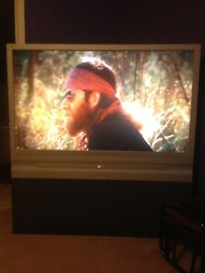 56 inch rear projection RCA TV
