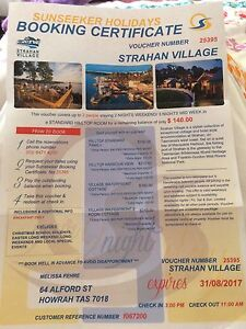 Voucher for Strahan village Howrah Clarence Area Preview