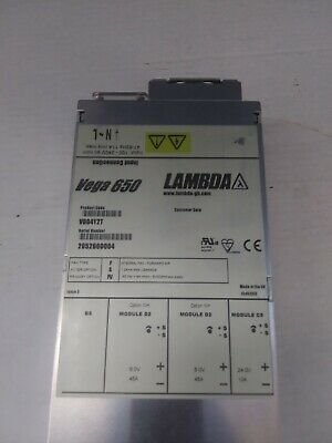 Lambda Vega 650 Power Supply V604y2t 6v45a 6v45a 24v10a