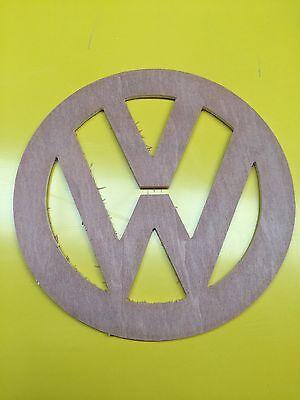 4 x VOLKSWAGEN VW logo Stencil Ply Line Ply line Campervan T5 T4 Emboss Mill Rev